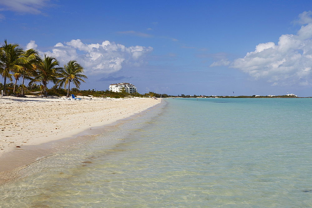 Long Bay Beach, on the south coast of Providenciales, Turks and Caicos, in the Caribbean, West Indies, Central America