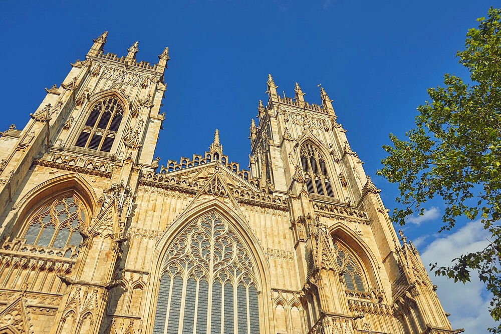 York Minster, the cathedral in the historic heart of the city of York, Yorkshire, England, United Kingdom, Europe - 1202-502