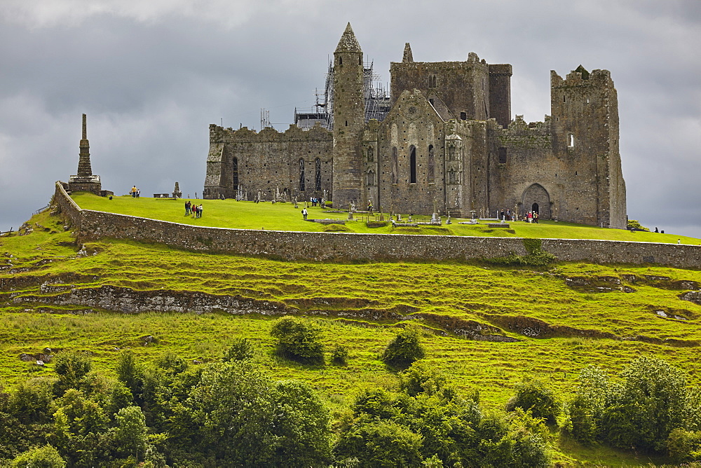 The ruins of the Rock of Cashel, Cashel, County Tipperary, Munster, Republic of Ireland, Europe - 1202-87