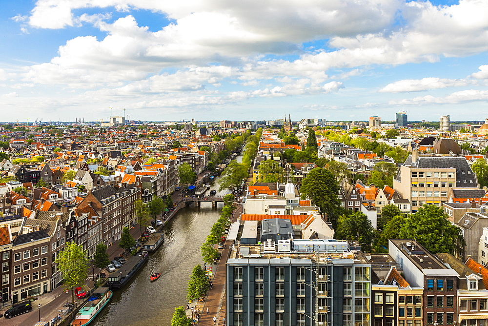 View of Prinsengracht canal, Amsterdam, Netherlands - 1207-107