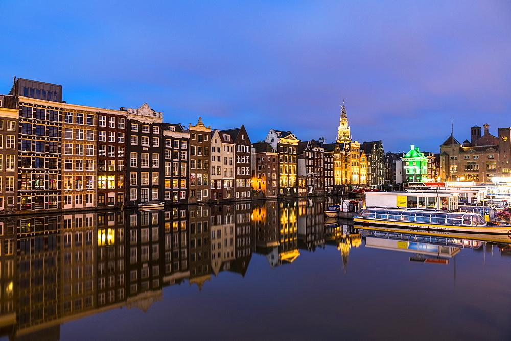 Damrak, Amsterdam, Netherlands, Europe