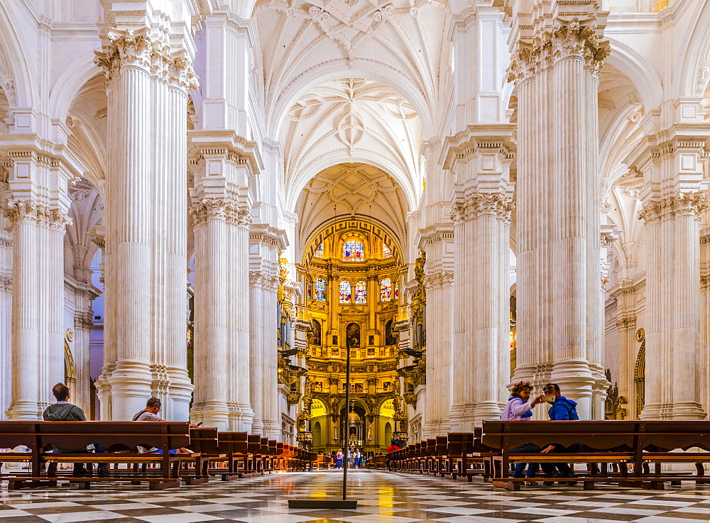 Granada Cathedral, Granada, Andalucia, Spain, Europe