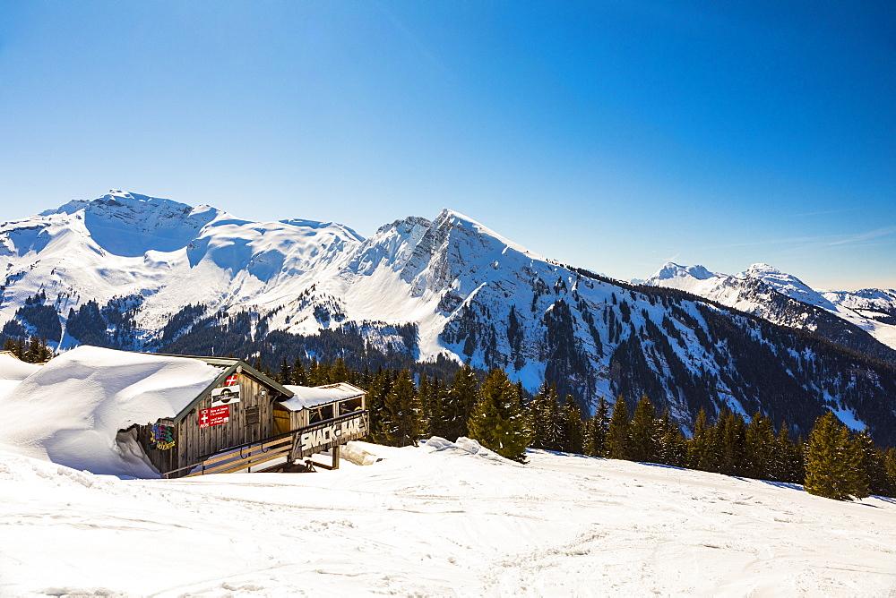 Avoriaz, Morzine, French Alps, France, Europe
