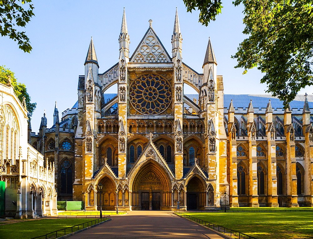 Westminster Abbey, London, England, United Kingdom, Europe - 1207-576