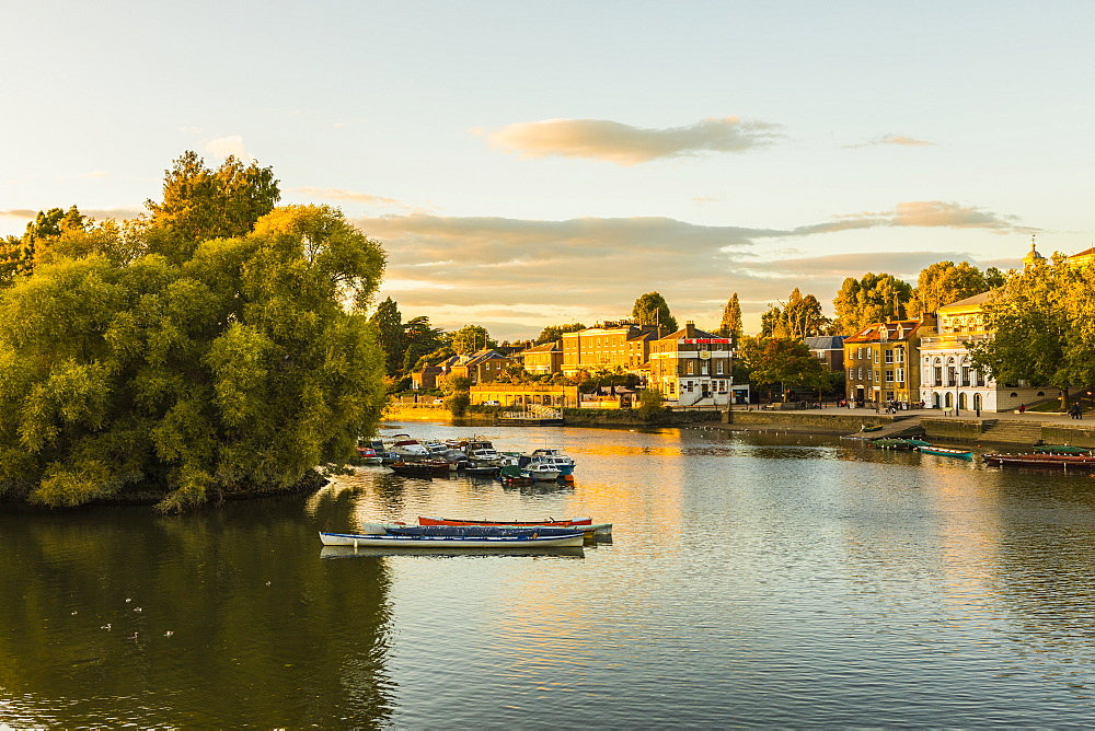 The River Thames, Richmond, London, England, United Kingdom, Europe - 1207-587
