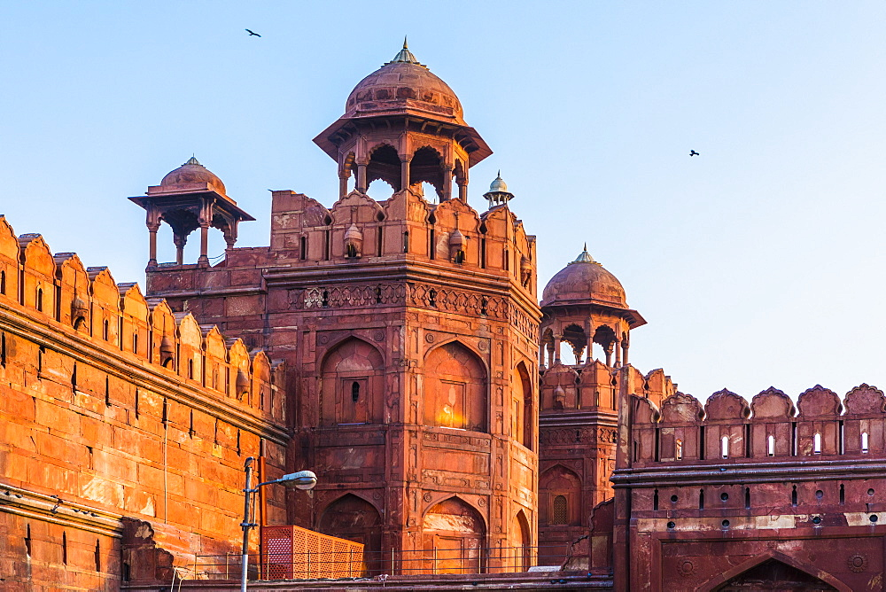 Red Fort, UNESCO World Heritage Site, Old Delhi, India, Asia