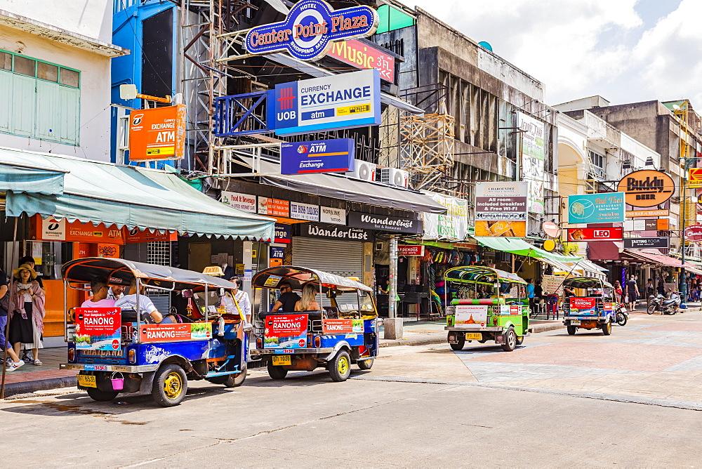 Khao San Road, Bangkok, Thailand, Southeast Asia, Asia - 1207-694