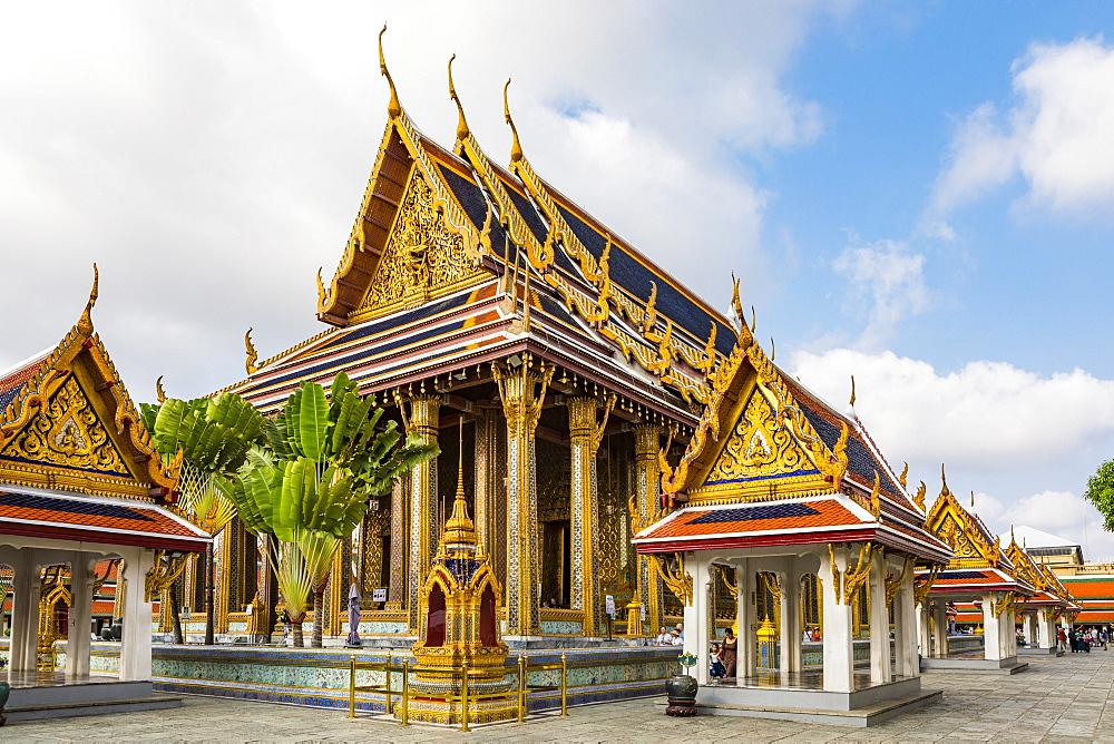 Wat Phra Kaew, The Grand Palace, Bangkok, Thailand, Southeast Asia, Asia - 1207-698