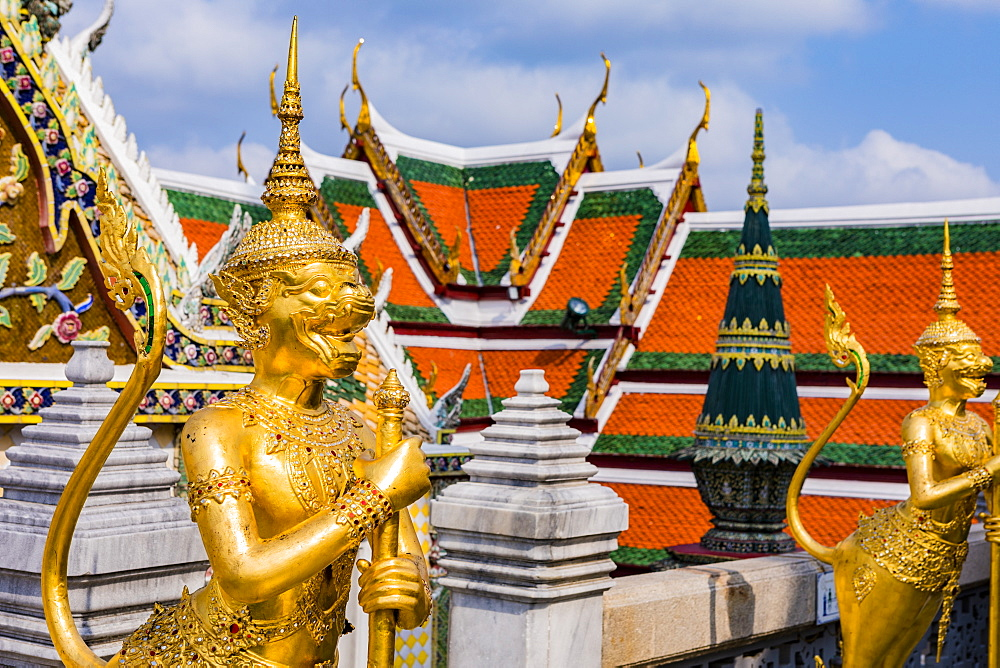 The Grand Palace, Bangkok, Thailand, Southeast Asia, Asia - 1207-703