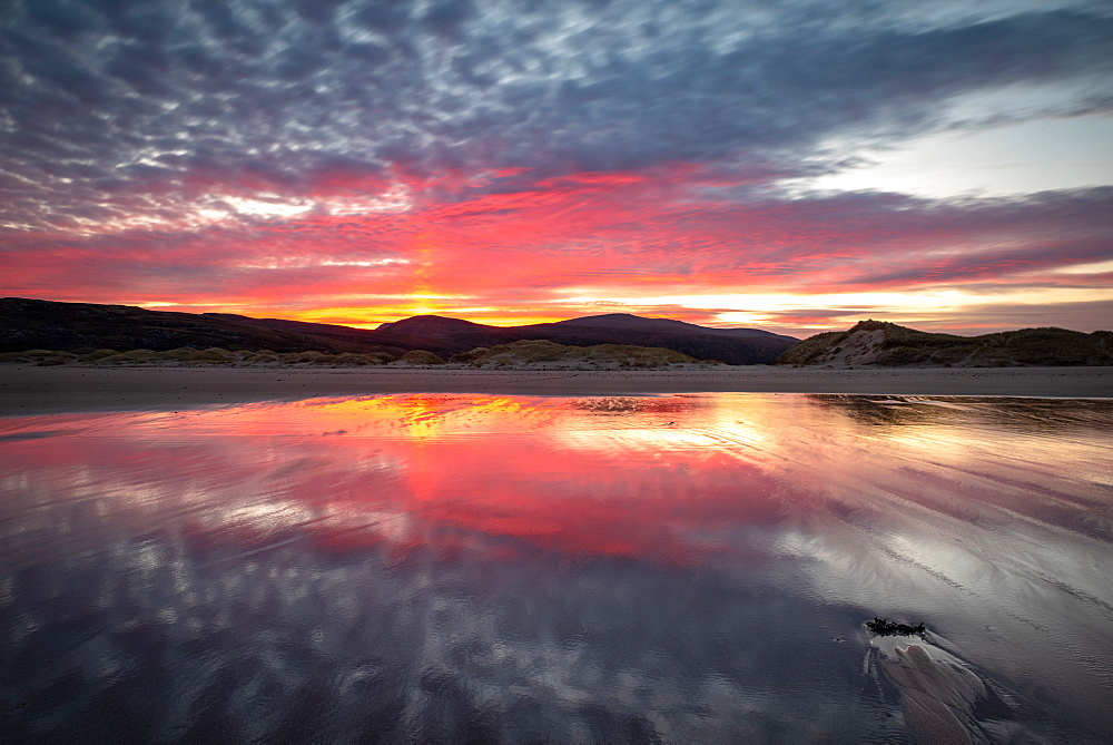 Sandwood Bay, Sutherland, Scotland, UK. Sunrise.