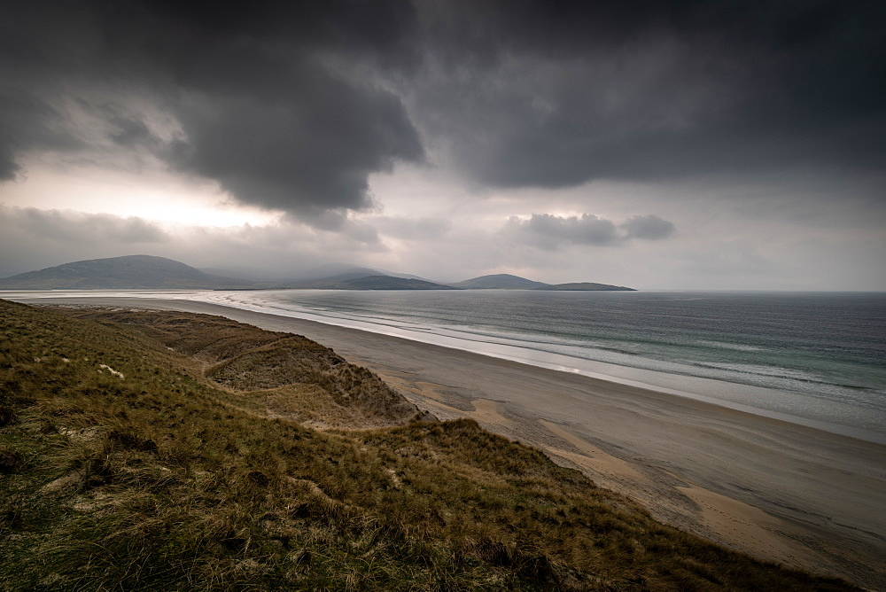 Luskentyre Beach, West Harris, Outer Hebrides. - 1209-221