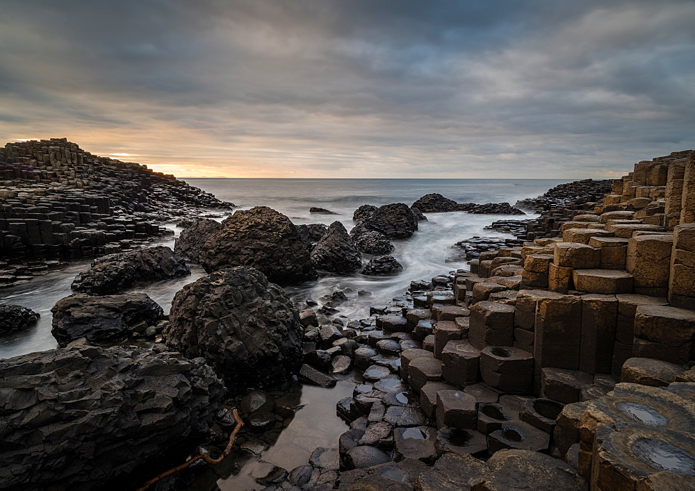 Giant's Causeway, Northern Ireland, UK. Sunset. - 1209-227