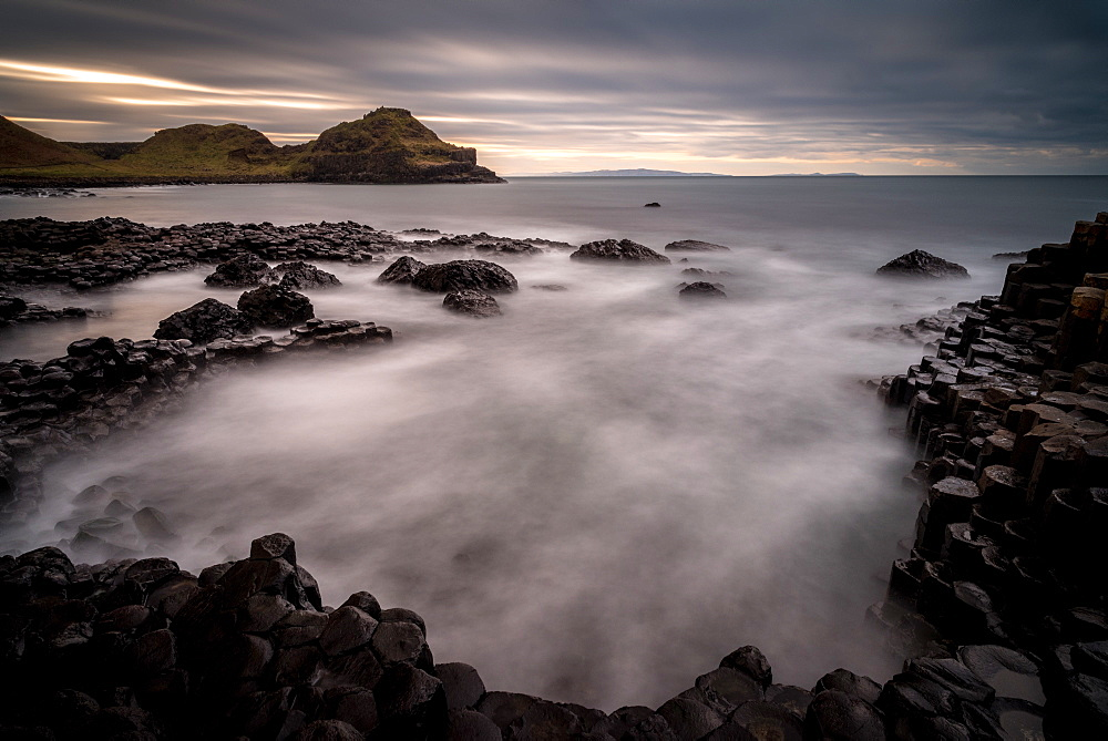 Giant's Causeway, Northern Ireland, UK. Sunset. - 1209-235