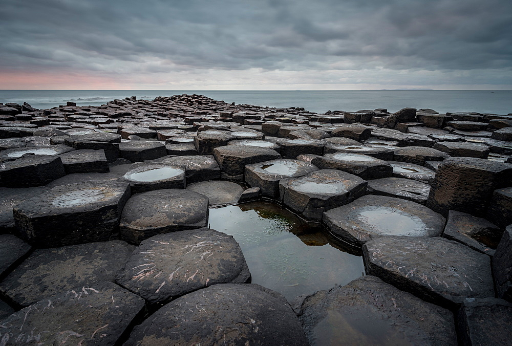 Giant's Causeway, Northern Ireland, UK. Sunset. - 1209-236