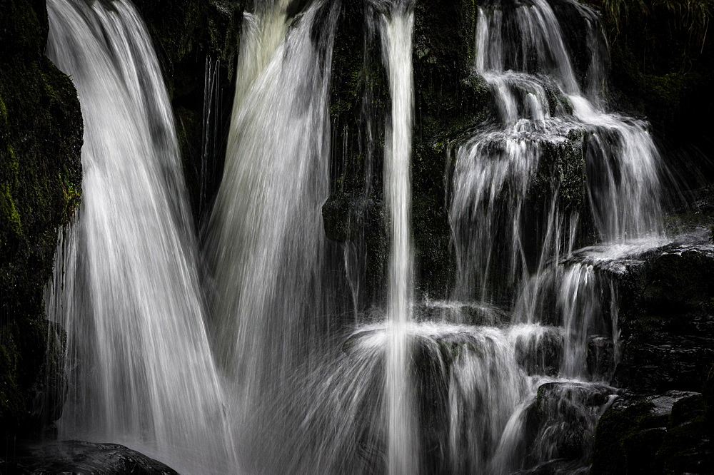 Sgwd y Pannwr waterfall, Pontneddfechan, Brecon Beacons, Powys, Wales, United Kingdom, Europe - 1209-242