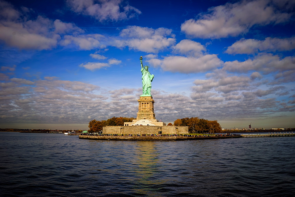 Statue of Liberty, New York City, United States of America, North America - 1215-9