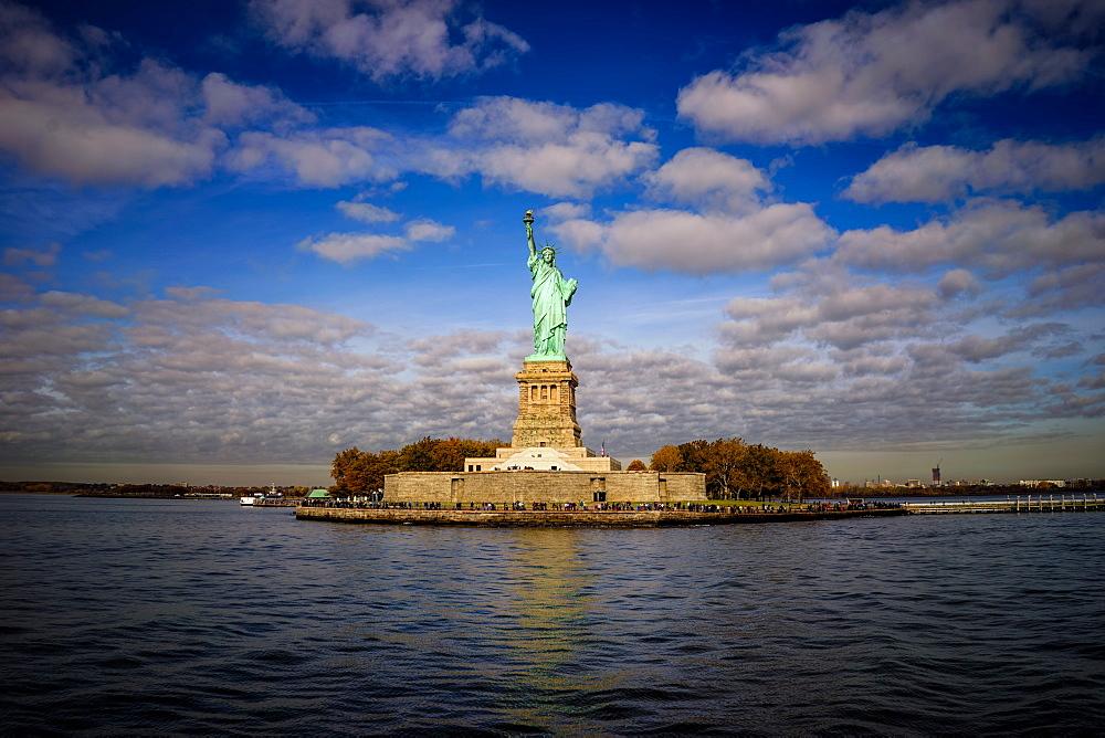 Statue of Liberty, New York City, United States of America, North America - 1215-9
