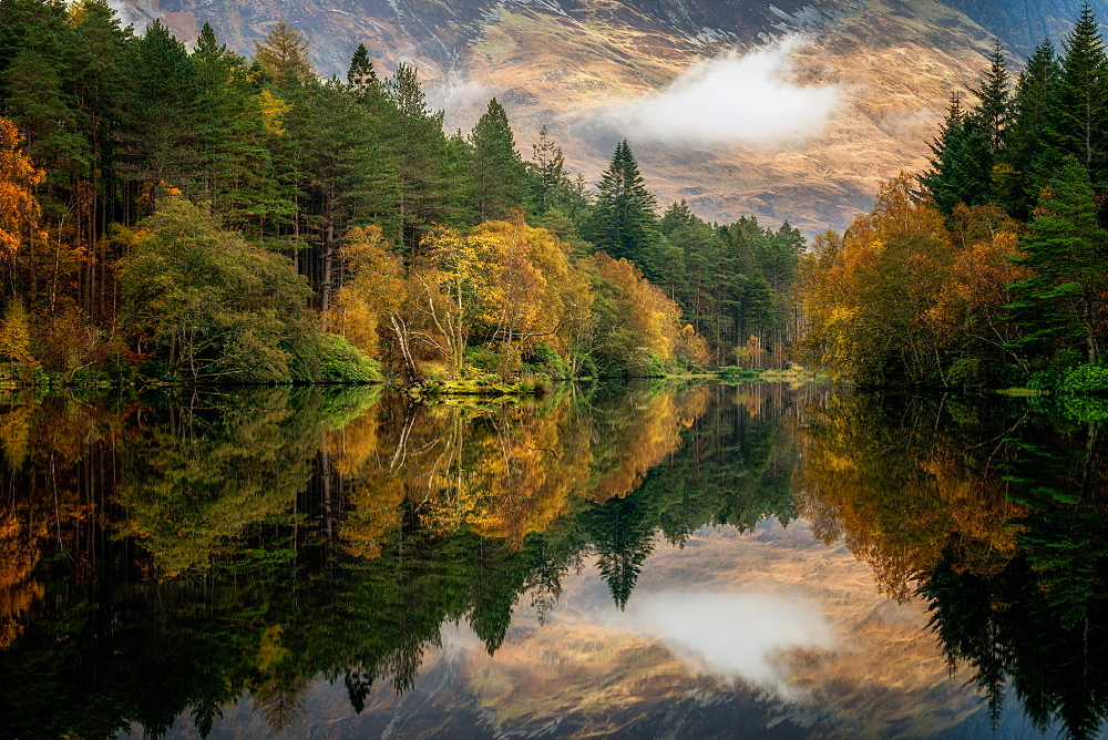 Autumn in Glencoe, Highlands, Scotland, United Kingdom, Europe