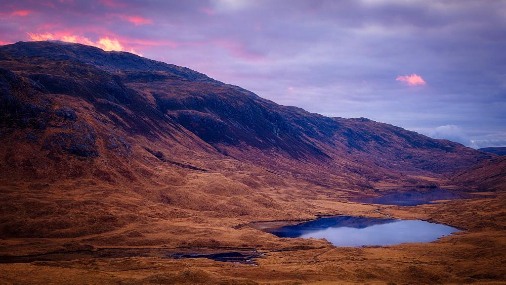 Isle of Mull sunrise, Inner Hebrides, Scotland, United Kingdom, Europe - 1216-105