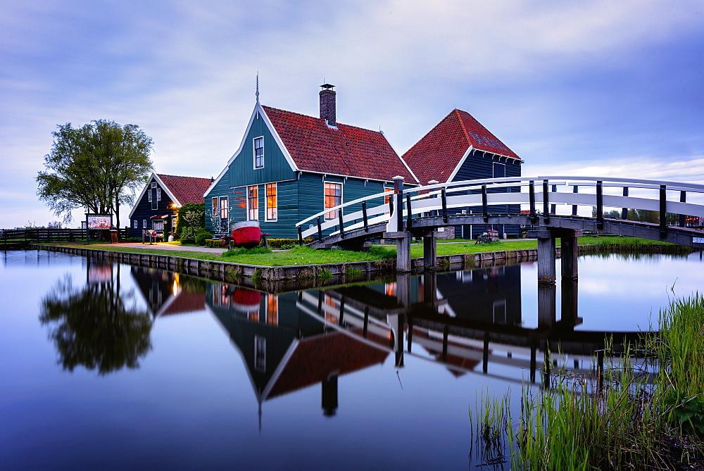 Zaanse Schans, Zaandam, Netherlands, Europe - 1216-134