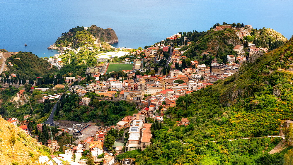 Taormina, Sicily, Italy, Mediterranean, Europe - 1216-136