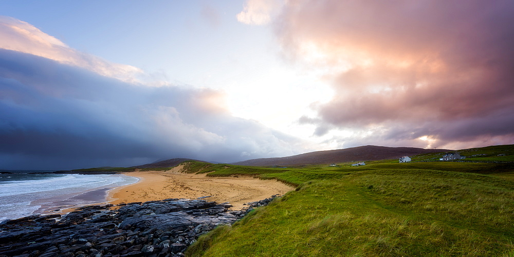 Sunrise on the Isle of Harris, Outer Hebrides, Scotland, United Kingdom, Europe