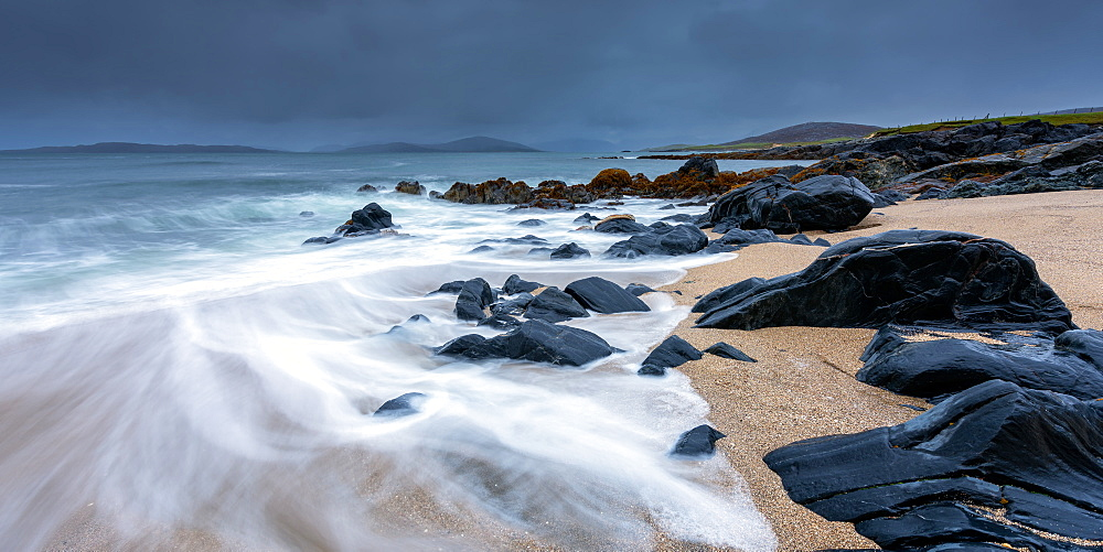 Isle of Harris Beach, Outer Hebrides, Scotland, United Kingdom, Europe - 1216-241