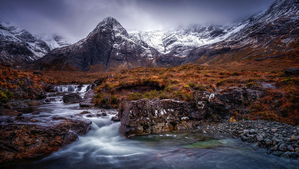 Fairy Pools, Isle of Skye, Inner Hebrides, Scotland, United Kingdom, Europe - 1216-249