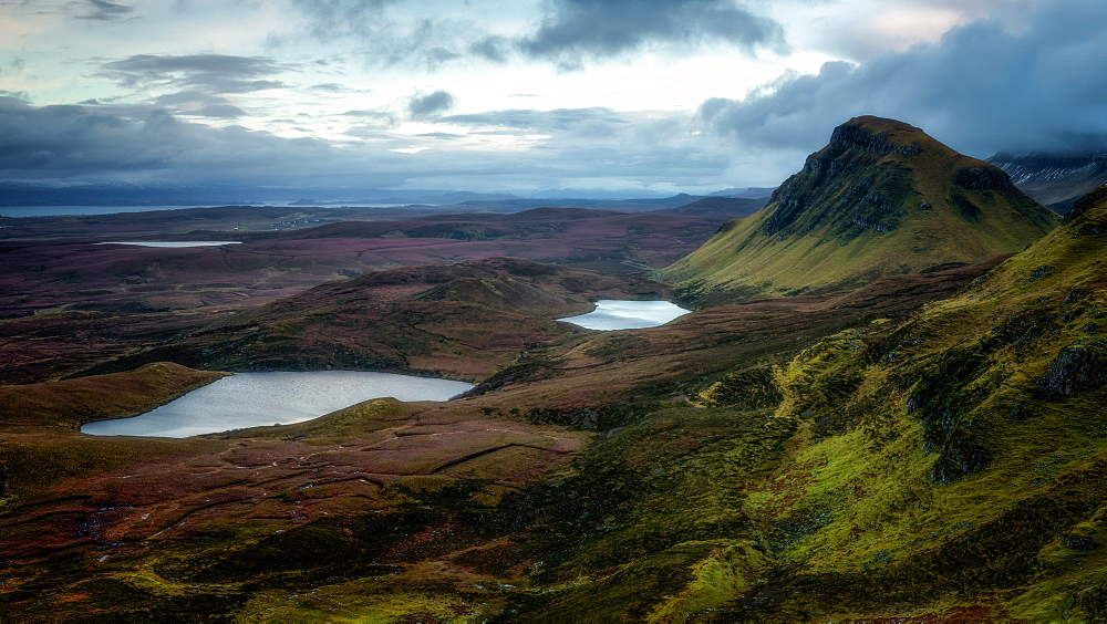 The Quiraing, Isle of Skye, Inner Hebrides, Scotland, United Kingdom, Europe - 1216-262
