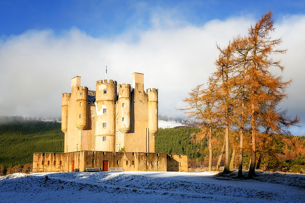 Braemar Castle, Aberdeenshire, Highlands, Scotland, United Kingdom, Europe - 1216-291