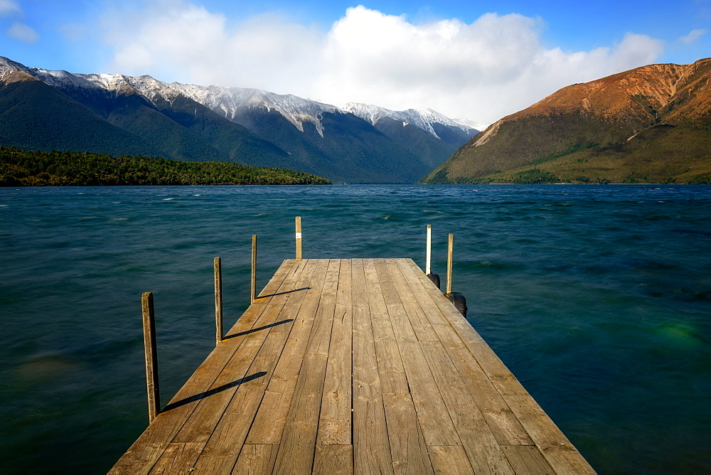 Lake Rotoiti, Nelson Lakes National Park, South Island, New Zealand, Pacific - 1216-327
