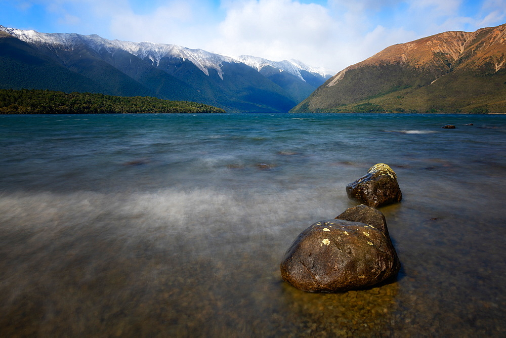 Lake Rotoiti, Nelson Lakes National Park, South Island, New Zealand, Pacific - 1216-329