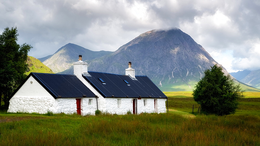 Blackrock Cottage, Glencoe, Scotland, United Kingdom, Europe - 1216-337