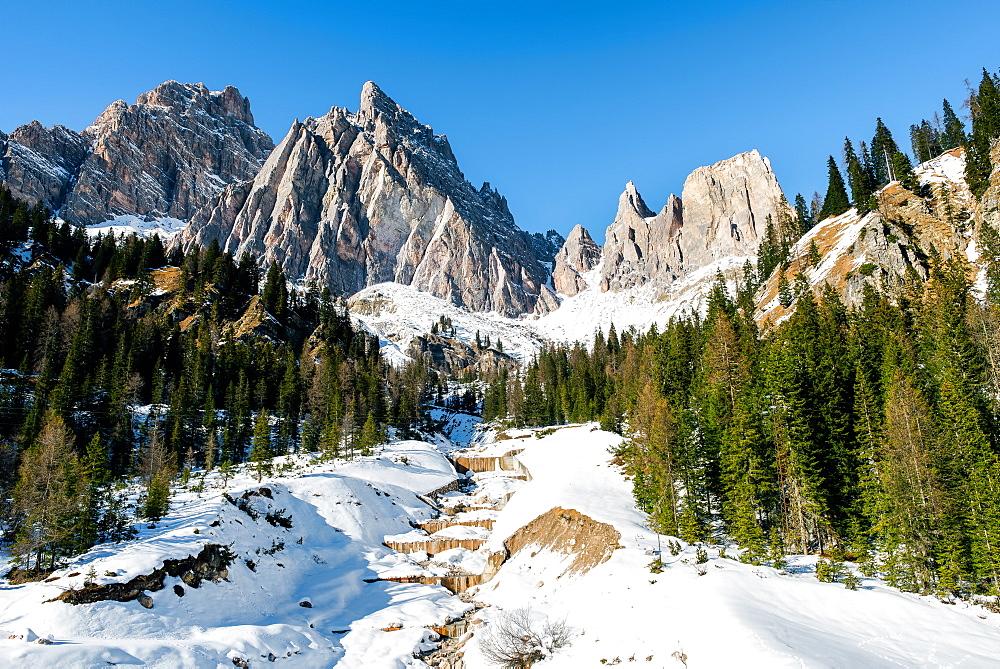 The Italian Dolomites, Italy, Europe - 1216-38