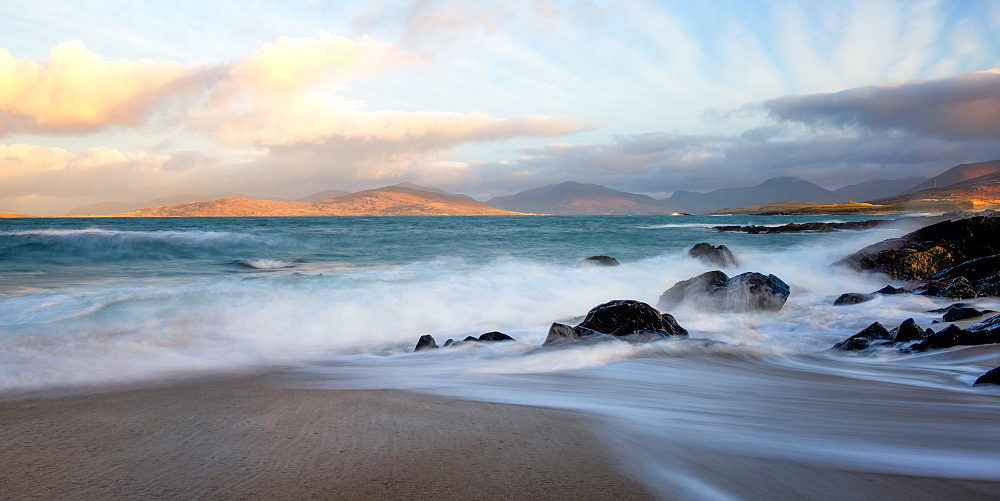 Bagh Steinigidh beach, Isle of Harris, Outer Hebrides, Scotland, UK - 1216-385