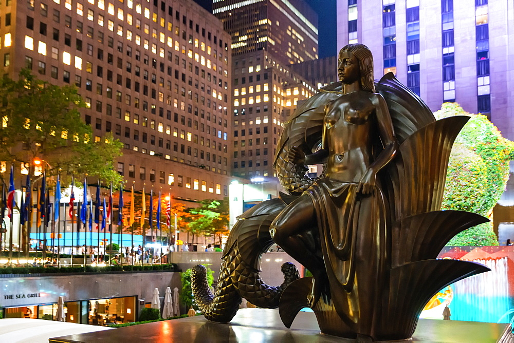Rockerfeller Centre, New York City, United States of America, North America