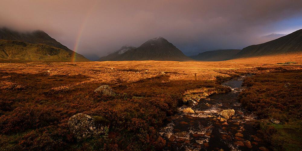 Buchaille Etive Mor, Glencoe, Scottish Highlands, Scotland, United Kingdom, Europe - 1216-578