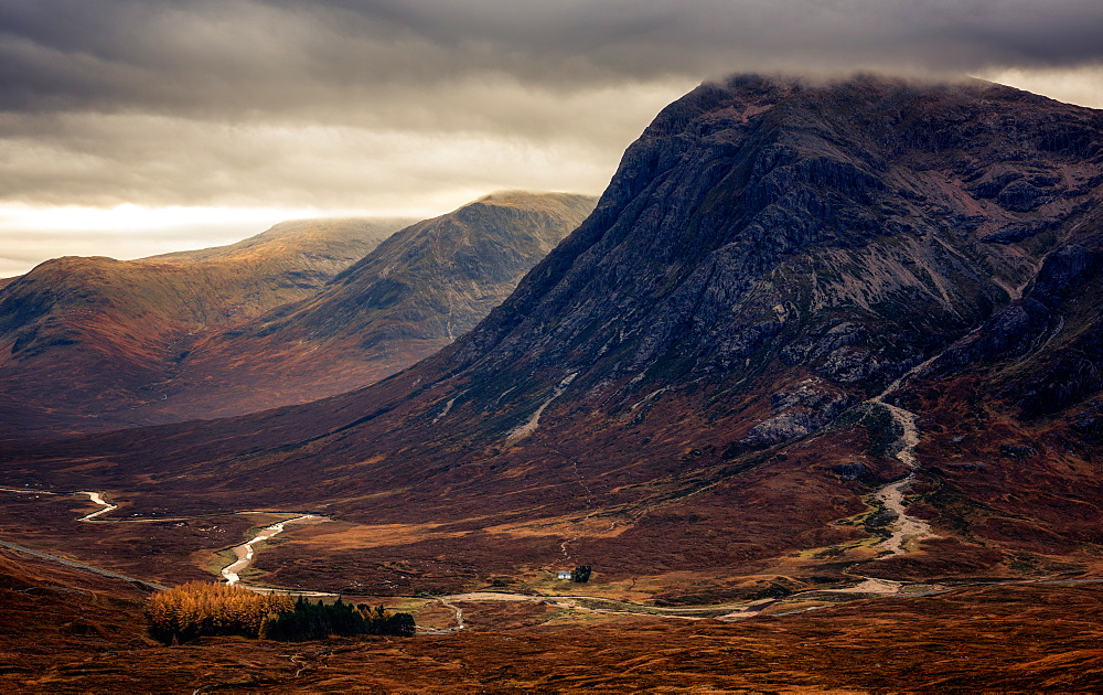 Stock photo of Buchaille Etive Mor, Glencoe, Highlands, Scotland