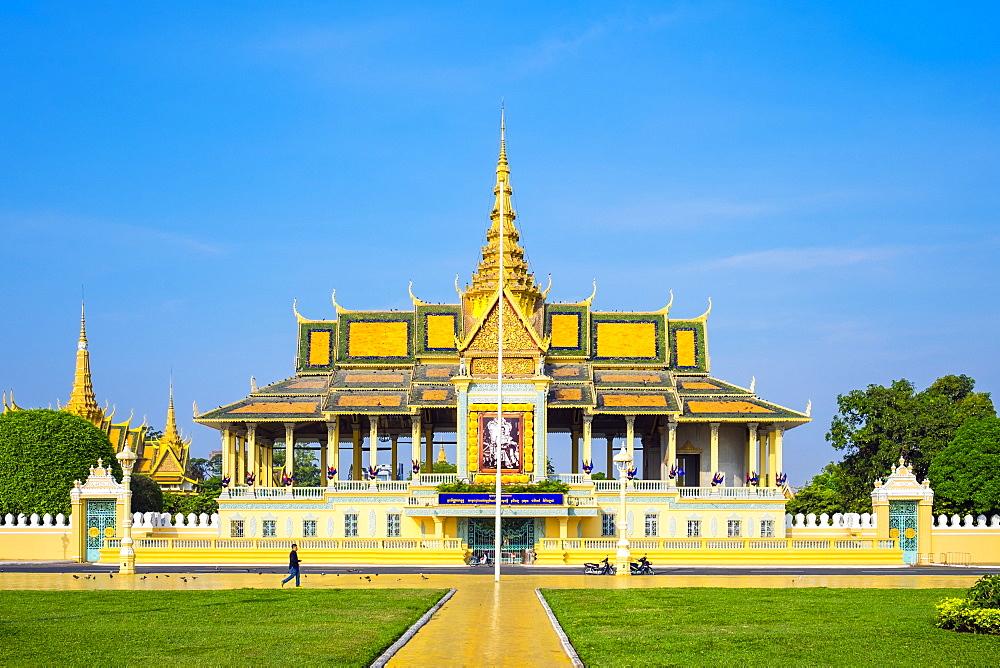 Moonlight Pavilion (Preah Thineang Chan Chhaya) of the Royal Palace, Phnom Penh, Cambodia, Indochina, Southeast Asia, Asia