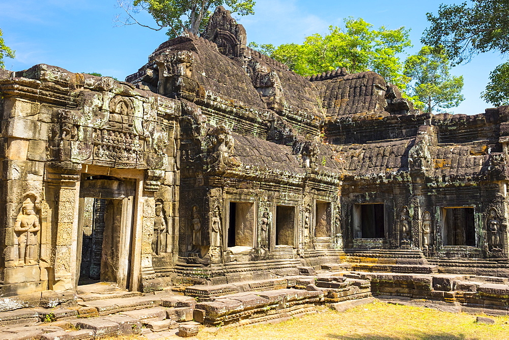Banteay Kdei temple, Angkor, UNESCO World Heritage Site, Siem Reap Province, Cambodia, Indochina, Southeast Asia, Asia