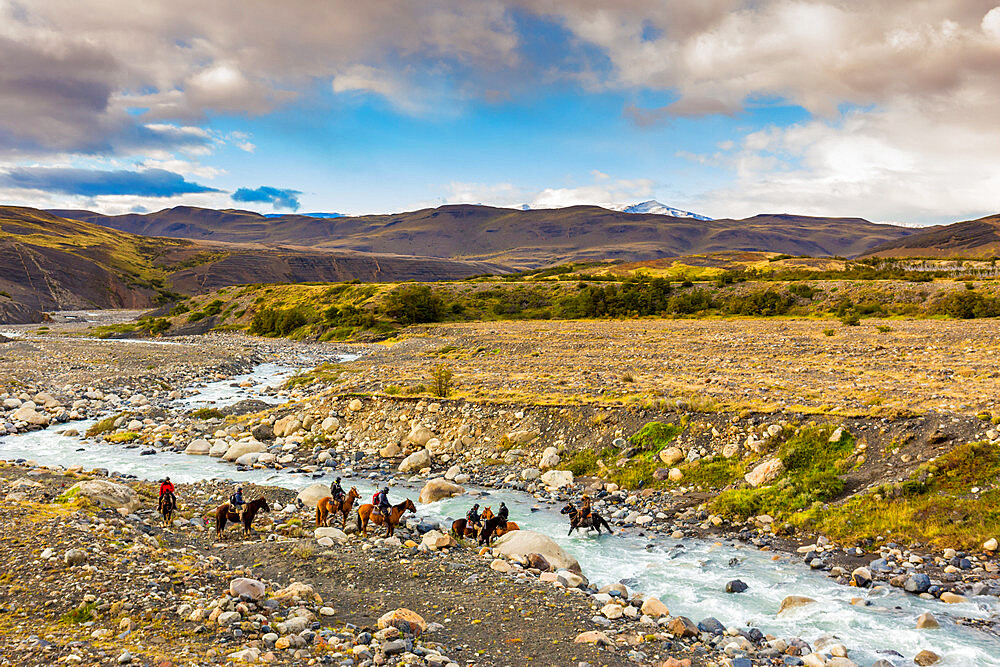 Beautiful Scenic in Torres del Paine National Park, Patagonia, Chile - 1218-1004