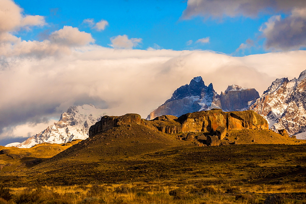 Beautiful scenery in Torres del Paine National Park, Patagonia, Chile, South America