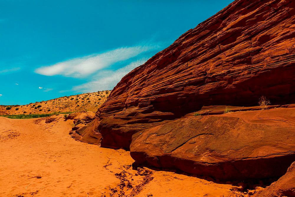 Antelope Canyon in Arizona, United States of America, North America - 1218-1080