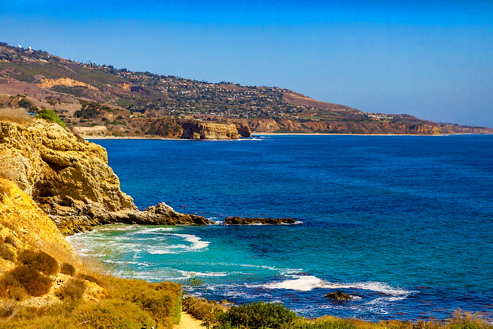 View of Terranea Cove, California, United States of America, North America