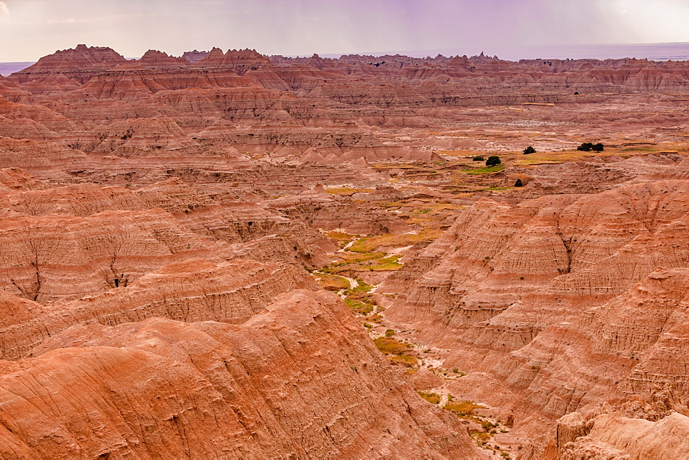 Breathtaking views in the Badlands. - 1218-1354