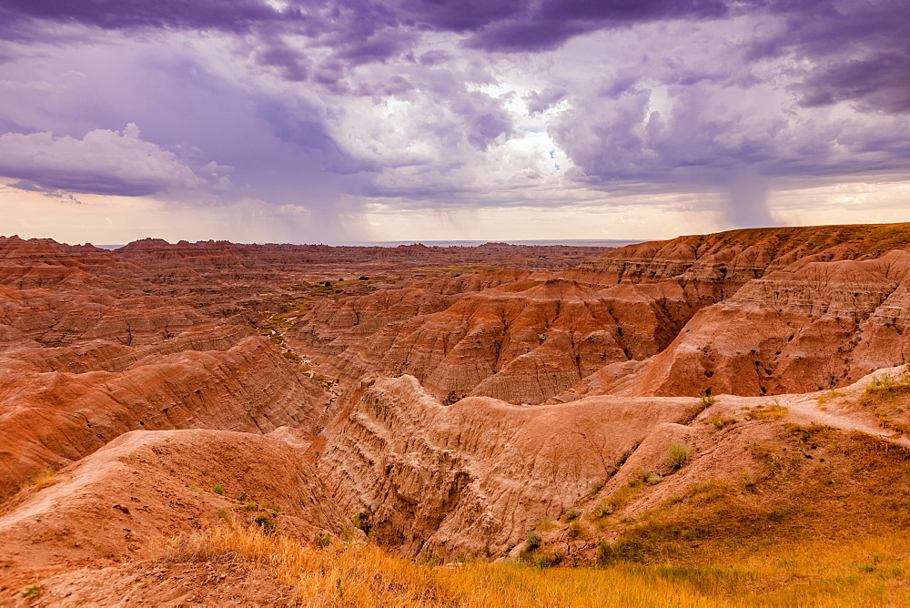 Breathtaking views in the Badlands. - 1218-1355