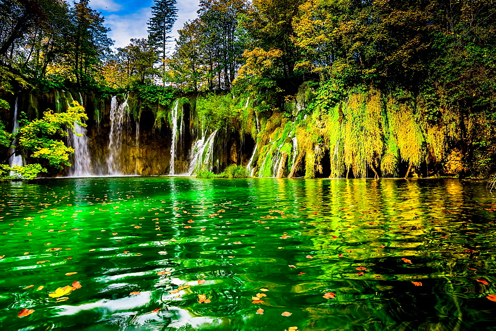 Beautiful Plitvice Lakes National Park image