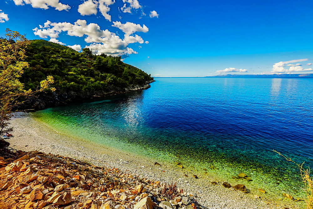 Racisce Beach on Korcula Island, Croatia, Europe