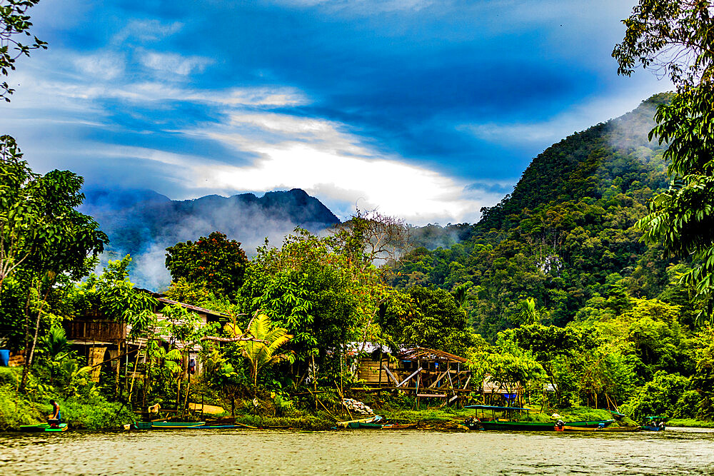 Scenics in Gunung Mulu National Park in Borneo, Malaysia, Southeast Asia, Asia