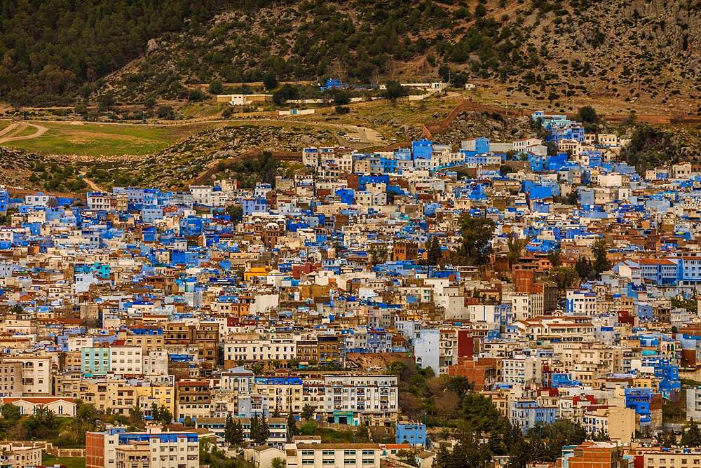 Blue City Chefchaouen of Morocco